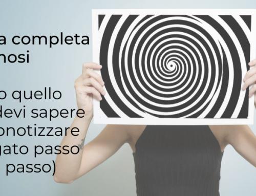Percorso di studio (quasi) completo per imparare a ipnotizzare come un professionista