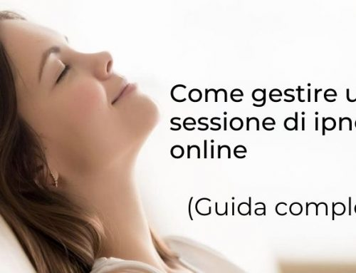 Come gestire una sessione di ipnosi online